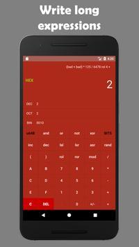 Programmer's calculator - BitCalculator скриншот 2