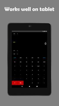 Programmer's calculator - BitCalculator скриншот 8