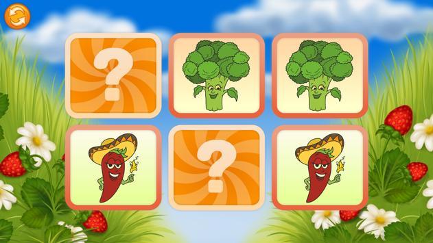 Pairs Match - Fruits screenshot 4