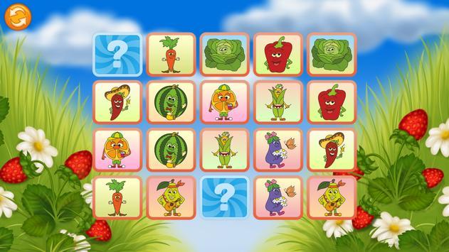 Pairs Match - Fruits screenshot 5