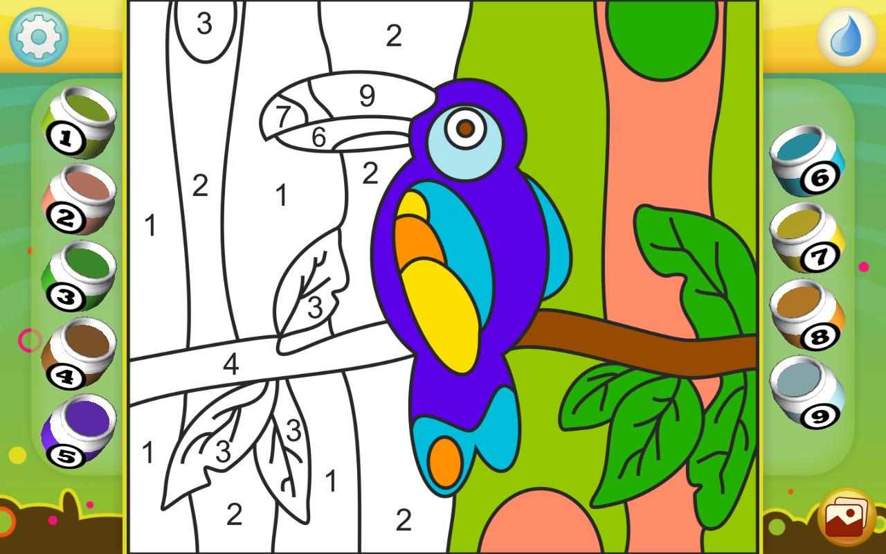 Color by Numbers - Animals APK Download - Free Educational GAME for ...