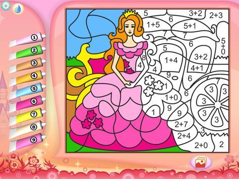 Pretty Princess Coloring Book screenshot 4
