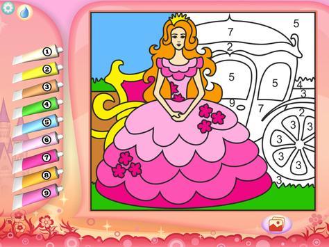 Pretty Princess Coloring Book screenshot 6