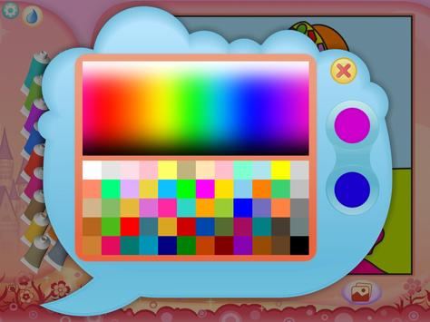 Pretty Princess Coloring Book screenshot 7