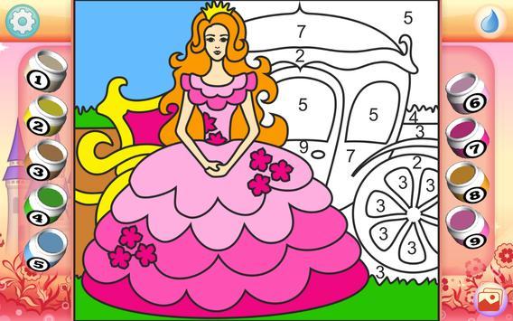 Pretty Princess Coloring Book screenshot 10