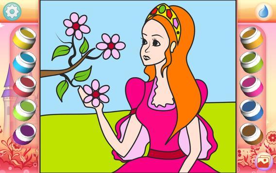 Pretty Princess Coloring Book screenshot 1