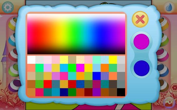 Pretty Princess Coloring Book screenshot 3