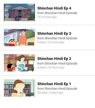 Shinchan Hindi Video screenshot 1