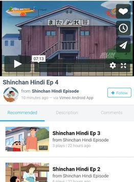 Shinchan Hindi Video screenshot 3