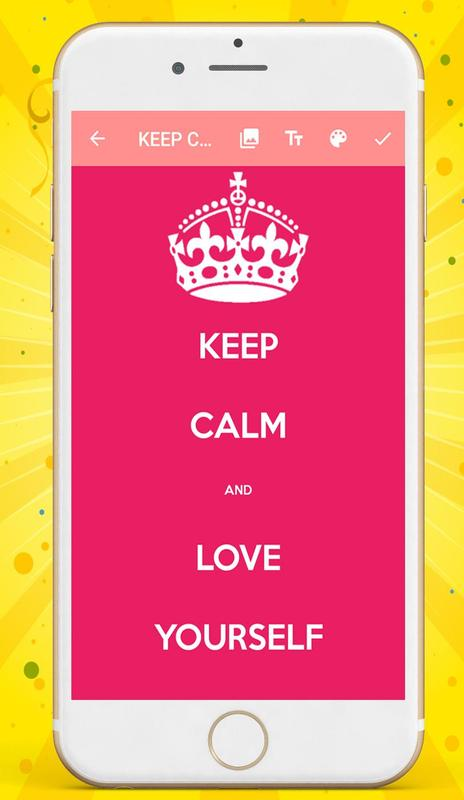 Keep Calm And Wallpaper Maker Apk Download Free Photography App