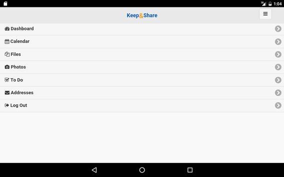 Keep&Share apk screenshot