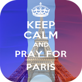 Keep Calm And Pray For Paris icon