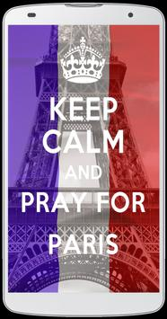 Keep Calm And Pray For Paris apk screenshot