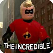 The incredible 5 Lego themed game 2018 icon