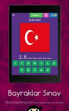 Bayraklar Sınav apk screenshot