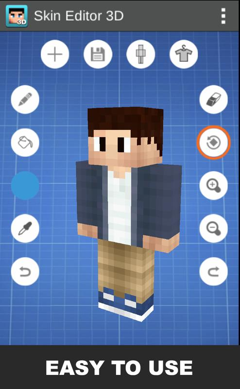 Skin Editor 3d For Android Apk Download