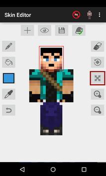 Skin Editor for Minecraft Cartaz