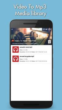 Video to mp3 screenshot 5