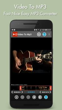 Video to mp3 poster