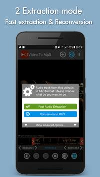 Video to mp3 apk screenshot
