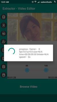 Extractor - Video editor screenshot 1