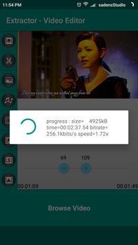 Extractor - Video editor screenshot 6