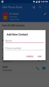 SIM Phone Book screenshot 1
