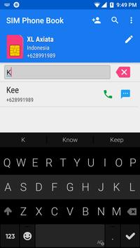 SIM Phone Book screenshot 2