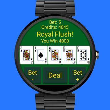 Wear Video Poker poster