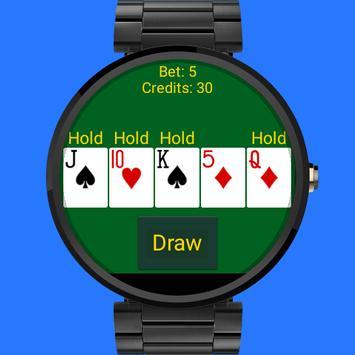 Wear Video Poker screenshot 1