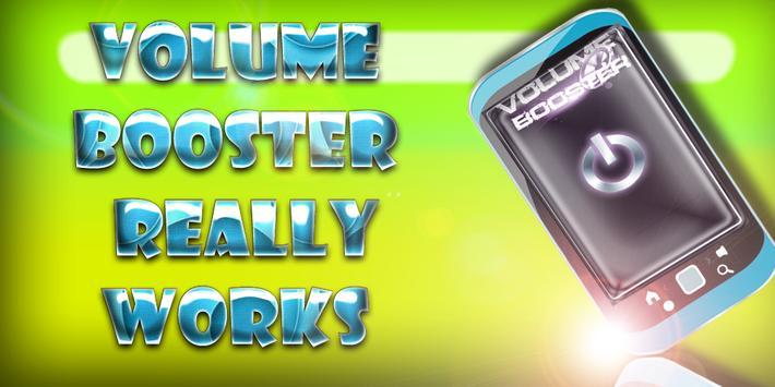 Volume Booster Best poster