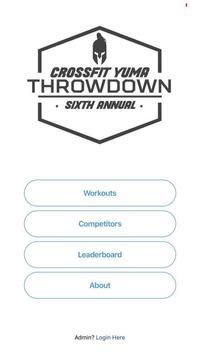 CrossFit Throwdown poster