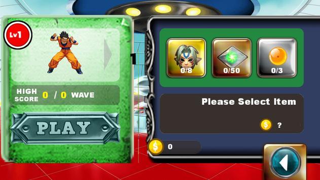 Super Warior DragonBall:Z screenshot 1