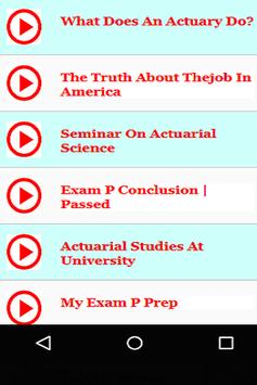 Actuary Lectures apk screenshot