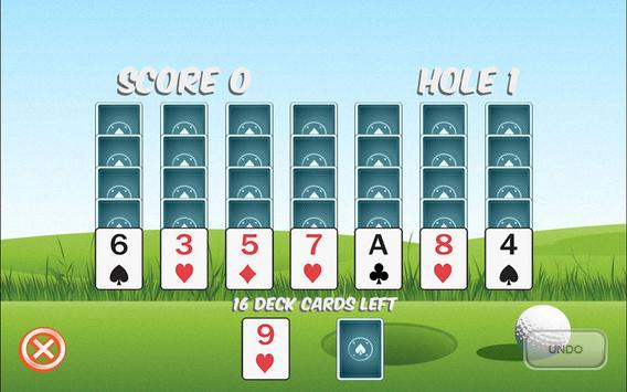 Golf Solitaire Ultra poster