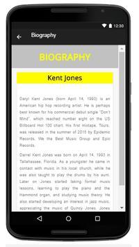 Kent Jones - Music And Lyrics apk screenshot