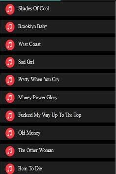 best lyrics of lana del ray screenshot 4