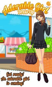 Adorable Girl Dress Up poster