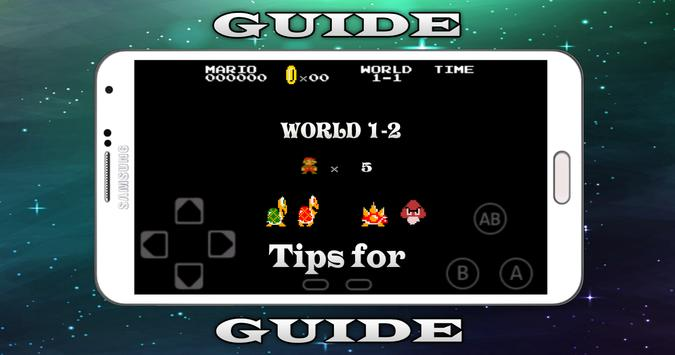 Tips for Super Mario Bros apk screenshot
