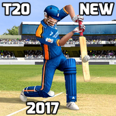 T20 Cricket Games 2017 New 3D icon
