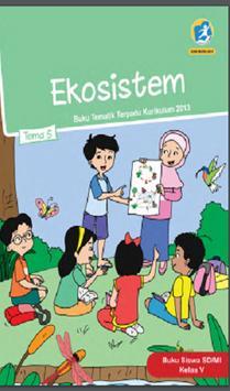 Buku Kelas 5 Tema 5 Kurikulum 2013 poster