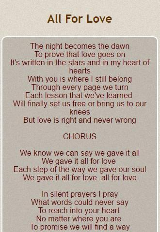 Michael Bolton Lyrics for Android - APK Download