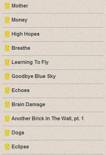 Pink Floyd Lyrics for Android - APK Download
