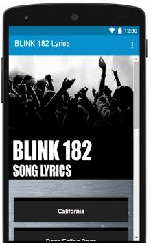 All BLINK 182 Lyrics Full Albums poster