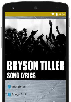 Best Of Bryson Tiller Lyrics poster