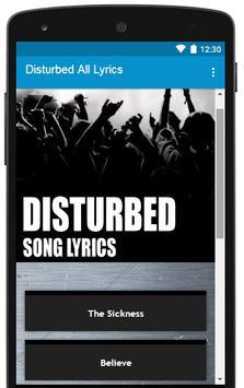 All Disturbed Lyrics Full Albums poster
