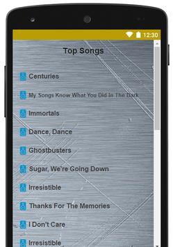 Best Of Fall Out Boy Lyrics screenshot 1