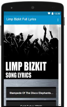 All Limp Bizkit Song Lyrics Full Albums poster