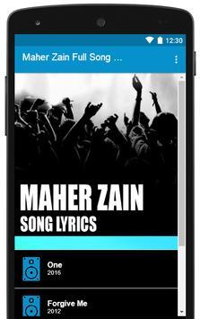 All Maher Zain Song Lyrics Full Albums poster