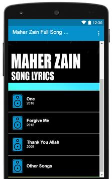 All Maher Zain Song Lyrics Full Albums for Android - APK